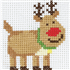 Picture of Cross Stitch Kit: 1st Kit: Rudolph