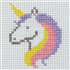 Picture of Counted Cross Stitch Kit: 1st Kit: Unicorn