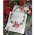 Picture of Embroidery Kit: Runner: Christmas Candy