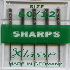 Picture of Sewing Machine Needles: Sharps: 80/12: 5 Pieces