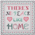 Picture of Counted Cross Stitch Kit: Sampler: No Place Like Home