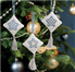 Picture of Counted Cross Stitch Kits: Christmas Decorations: Stars: Ice Blue