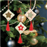 Picture of Counted Cross Stitch Kits: Christmas Decorations: Stars: Green/Red