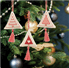 Picture of Counted Cross Stitch Kits: Christmas Decorations: Trees: Rose Gold