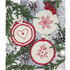 Picture of Crochet Kit: Circle Christmas Decorations: Red