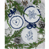 Picture of Crochet Kit: Circle Christmas Decorations: Blue