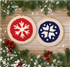 Picture of Punch Needle Kit: Nordic Snowflakes