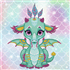 Picture of Ariel the Baby Dragon: Dotz Box Kit: Medium