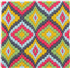 Picture of Tapestry Kit: Starter: Tina Francis: Bargello: Persimmon