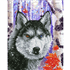 Picture of Diamond Painting Kit: Forest Wolf