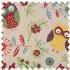 Picture of Craft Bag with Wooden Handles: Owl