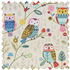 Picture of Craft Bag with Wooden Handles: Twit Twoo