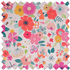 Picture of Knitting Bag: Floral Garden: Pink: Pack of 3