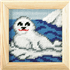 Picture of Needlepoint Kit: My First Embroidery: Seal