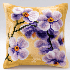 Picture of Cross Stitch Kit: Cushion: Orchid